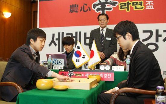 三国围棋擂台赛日本又成看客
