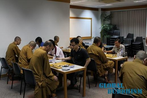 杭州灵隐寺隐藏僧人围棋高手