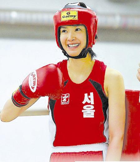 韩国最美女拳手距离国家队一步之遥