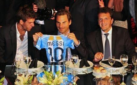 费德勒:梅西和我都证明了我们是成功球员