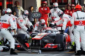 迈凯轮:明年常规进站时间2秒!