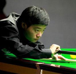 欧巡赛第五站:丁俊晖4-2胜迈克吉尔夺冠