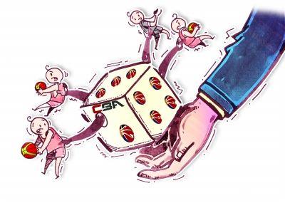 曝CBA面临赌球威胁,5万元能搞定裁判