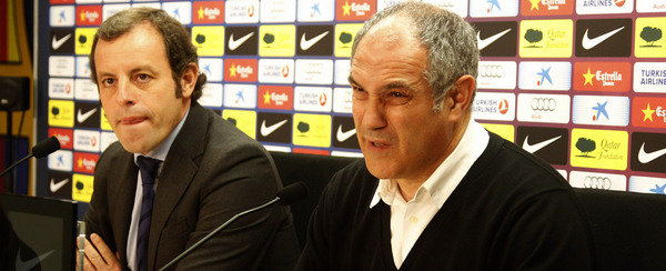 巴萨足球总监:主帅还是比拉诺瓦