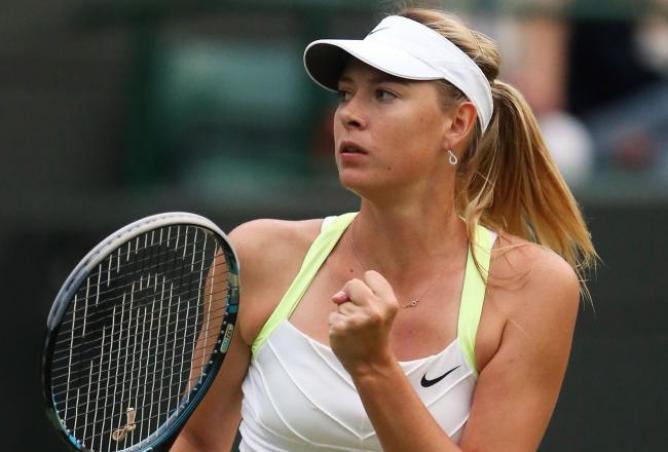 莎拉波娃公布2013上半赛季行程
