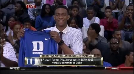贾巴里-帕克公布择校决定:杜克_虎扑NBA新声 Jabari Parker Nba 2k13