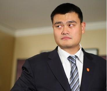 姚明当选上海市体育总会副主席