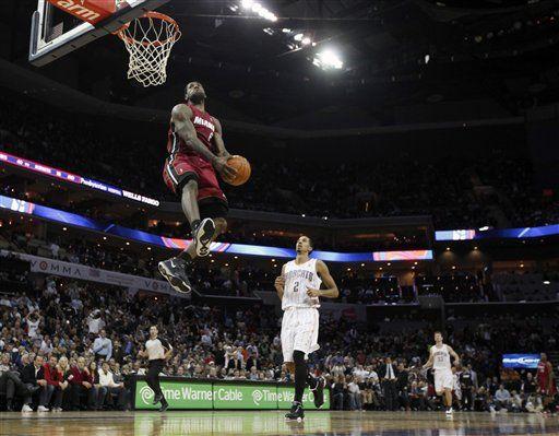勒布朗:永远都不会参加扣篮大赛