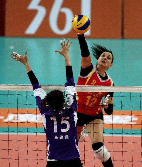 女排联赛第14轮:天津胜北京,恒大胜上海