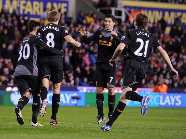 杰拉德点球破门,利物浦1-3遭斯托克逆转