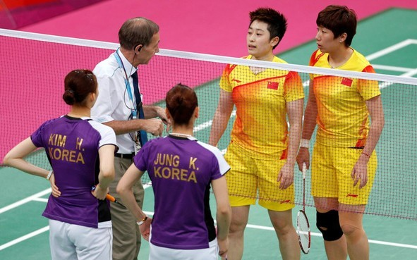 韩国羽球赛:奥运消极四主角或再PK