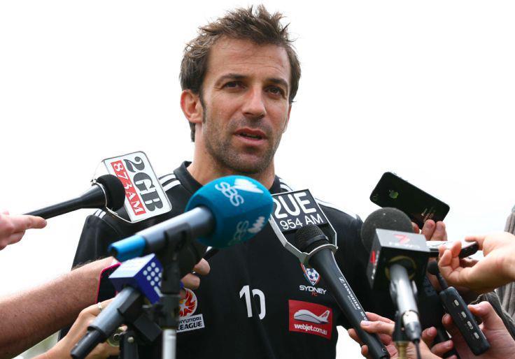 皮耶罗全程英语采访谈悉尼FC现状