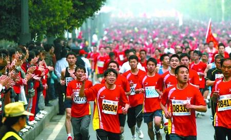重庆国际马拉松比赛征集情侣、亲子参赛