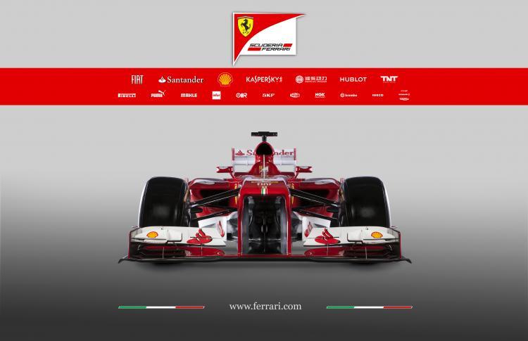 法拉利F138:官方介绍及技术细节