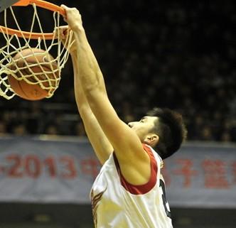 19板!山东内线陶汉林创生涯篮板新高