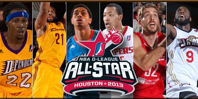 2013年NBA发展联盟全明星赛名单公布