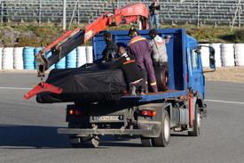 惠特马什证实:油泵故障又发生了