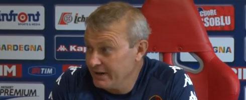 卡利亚里主帅:比赛回归主场离不开米兰支持