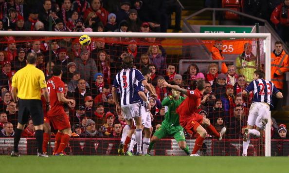 杰拉德失点,利物浦0-2西布朗