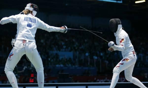 女子重剑大奖赛:中国团体夺冠