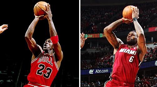詹姆斯:我不是MJ,我是LJ
