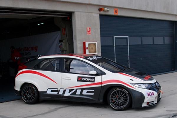 [WTCC]本田JAS车队完成三天测试
