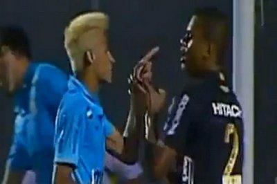 内马尔踢人被罚下,抨击足球太没劲