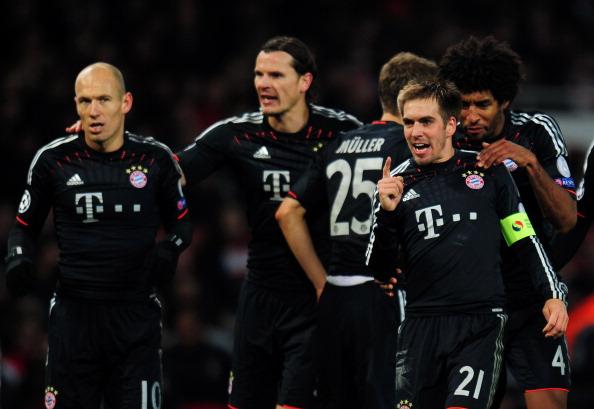 罗本:拜仁这场表现了极高的水准