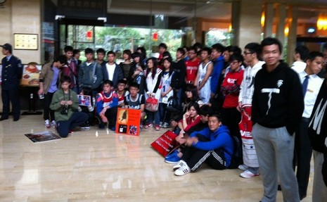 麦迪动情宣言:中国球迷是世界上最棒的