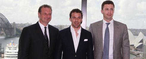 【官方】皮耶罗与悉尼FC续约一年