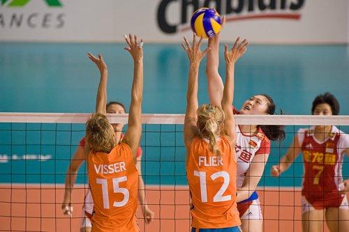瑞士精英赛中国女排与巴西俄罗斯同组