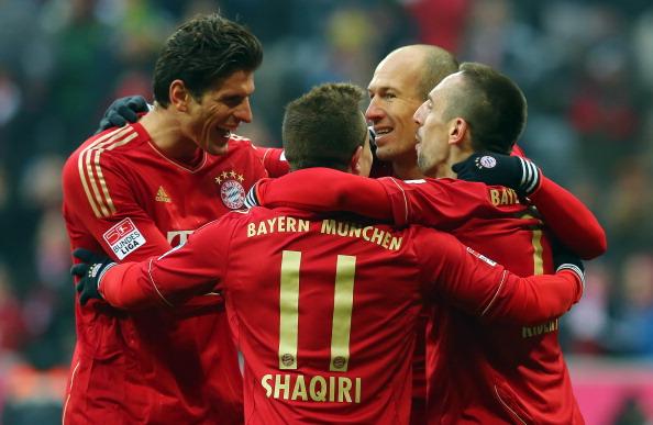 戈麦斯联手罗贝里造屠杀,拜仁6-1不莱梅