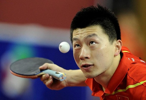 卡塔尔乒球赛:马龙称王,中国包揽