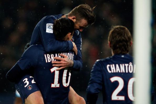小贝替补出场策划进球,巴黎2-0马赛