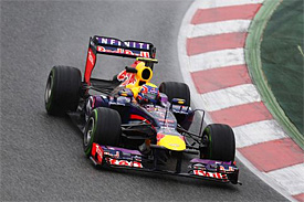 巴塞罗那试车首日:韦伯领先达1.6秒