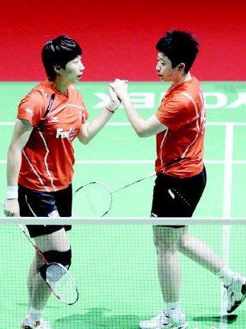 全英赛女双首轮:中国四对组合晋级
