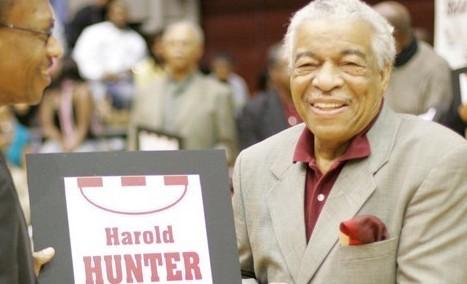 NBA黑人先行者哈罗德-亨特今天去世