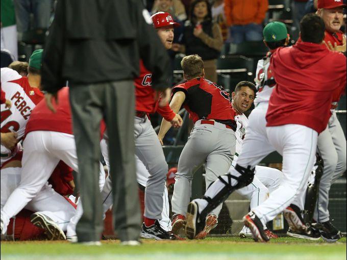 世界棒球经典赛爆发大规模群殴