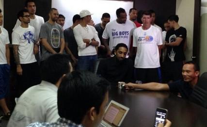 前NBA球员巴尔克曼被菲律宾联赛禁赛