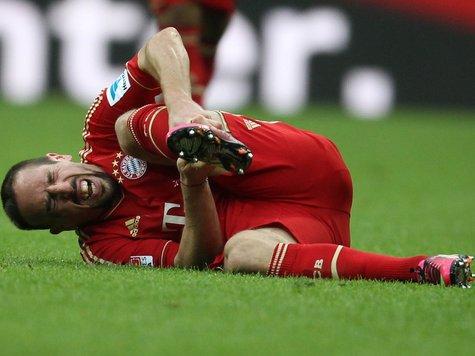 脚踝有伤,里贝里出战阿森纳成疑