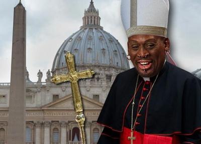 罗德曼:我要去见新一任罗马教皇