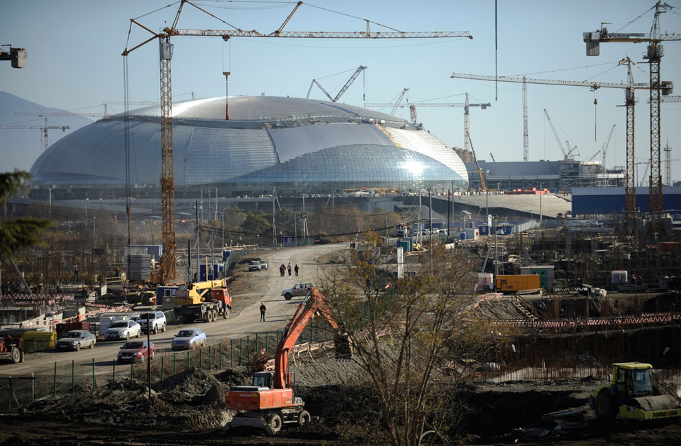 奥委会:索契的准备工作取得了不少进步
