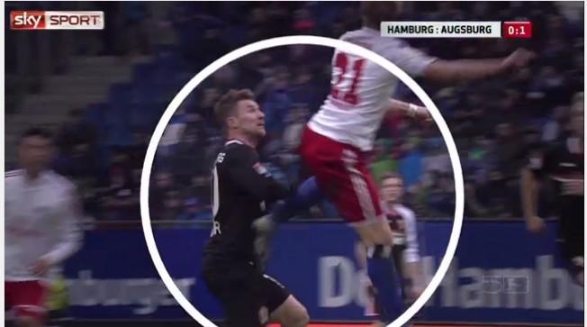 汉堡球员拜斯特因为粗野动作被禁赛5场