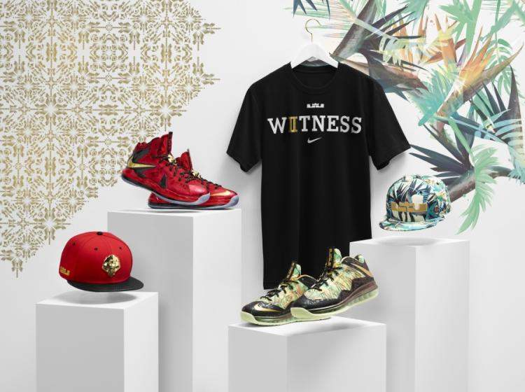 Nike LeBron X总冠军套装
