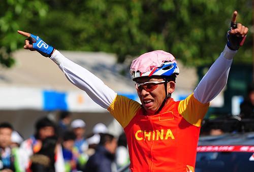 残奥冠军刘馨阳全运梦,一条腿骑出的第五名