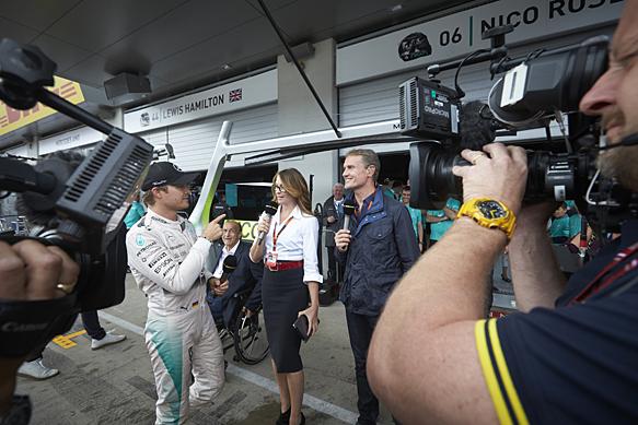 伯尼希望BBC能够继续留在F1