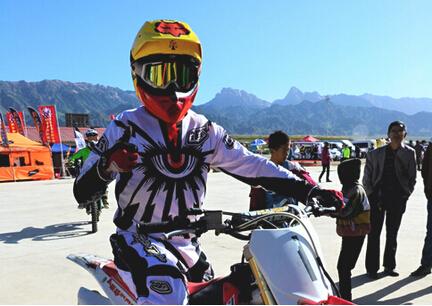 彭天伟:越野摩托车,让我更勇敢
