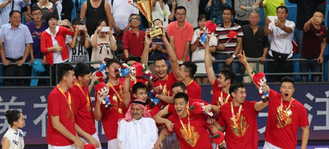 FIBA排名:中国稳居亚洲榜首