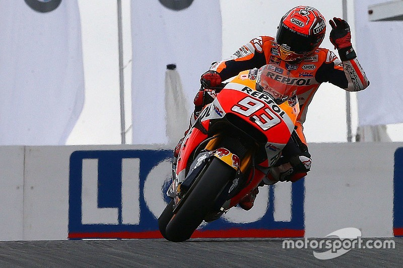 MotoGP德国站:洛伦佐两度摔车,马奎兹夺下杆位