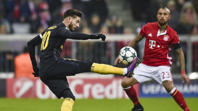 补强锋线,传拜仁有意马竞前锋卡拉斯科